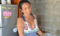 Su madre, Luz Sánchez ha estado ahí para ella, aunque también esté enferma.