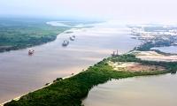 Desembocadura del río Magdalena.