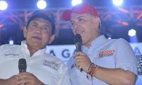 Poncho Zuleta e Iván Duque.