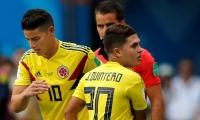 James Rodríguez y Juan Fernando Quintero conducirán el mediocampo de Colombia.