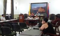 Aspecto de la sesión plenaria de la Asamblea del Magdalena la mañana de este jueves.
