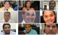 Estos son los concejales que votaron por el no al proyecto de alivios tributarios.