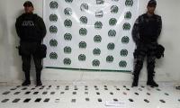 Material hallado en la cárcel de Santa Marta.