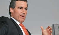 El presidente de la Asociación Colombiana de Gas Natural (Naturgas), Orlando Cabrales Segovia.