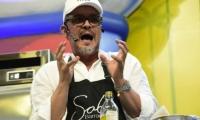 El chef samario Guillermo Vives.