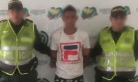 Ciudadano venezolano capturado con droga en Guacamayal, municipio de Zona Bananera.