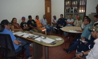 La alcaldía de Aracataca realizó el consejo de gestión de riesgo por el paso de Isaac.
