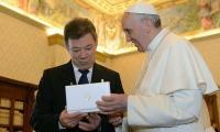 Santos y el Papa Francisco