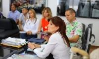 La goberdonadora lideró una reunión en la que acordaron acciones para responder la solicitud de las comunidades.