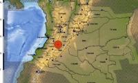 El sismo tuvo como epicentro Planadas, Tolima.