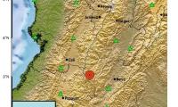 Sismo en la región andina