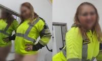 Imagenes de la mujer rondando por redes sociales