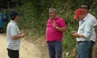 Supervisión  al predio en Puerto Mosquito donde se estaría presentando el robo de agua.