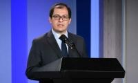 El Consejero Presidencial para los Derechos Humanos y Asuntos Internacionales, Francisco Barbosa Delgado.