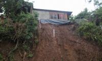 Muro de contención colapsó en la vereda San Rafael