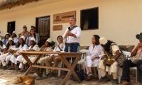 Presidente de Colombia, Iván Duque en la Sierra Nevada de Santa Marta