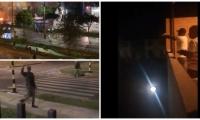 Imágenes que muestran momentos de pánico en Cali.