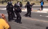 Luego de la marcha de este 21 de noviembre en Santa Marta, algunas personas que participaron aseguran haber sido víctimas del abuso de autoridad por parte del personal del Esmad.