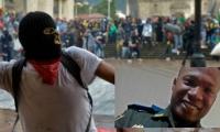 Uniformado samario perdió su ojo en protestas en Bogotá