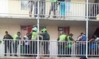 Los hechos se presentaron hacia las 3:30 de la tarde, en la calle 26 A con carrera 16 Conjunto Residencial Ciudad Real