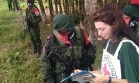 La liberación se realizó en zona rural del departamento de Arauca.