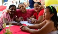 Internas de la cárcel Rodrigo de Bastidas disfrutaron la navidad