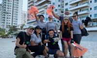 Playatón en Los Cocos