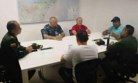 Consejo de seguridad en Riohacha