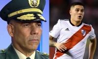 La familia de Juan Fernando Quintero ha señalado al general Eduardo Zapateiro por la desaparición de Jaime Quintero Cano, padre del futbolista.
