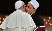 El Papa Francisco y el gran imán de Al Azhar, Ahmad Al Tayeb,