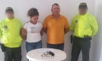 Fueron capturados en la Zona Bananera en un allanamiento a su vivienda.