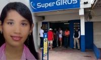 Ana Yacira Paz Fernández, empleada de supergiro, víctima de atraco