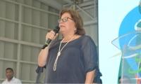 La ministra de Justicia, Gloria Borrero Restrepo.