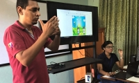 Estudiantes del Programa de Licenciatura en Informática generan prototipo por medio del cual buscan mejorar metodología de aprendizaje para personas con discapacidad auditiva.