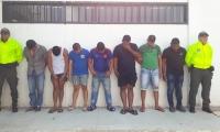 Cae peligrosa banda delincuencial en Santa Marta