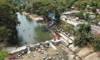 Esta imagen muestra la magnitud de la afectación ambiental producida por el hotel La Macarena.