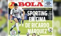 Portada 25 de marzo del diario deportivo 'A Bola'