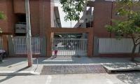 Megacolegio Simón Bolívar, ubicado en el barrio Las Flores, barranquilla