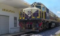 La línea férrea en la actualidad tiene al municipio dividido en dos.