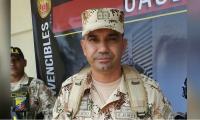 El coronel Juan Carlos Aparicio, Comandante de la Segunda Brigada del Ejército Nacional.