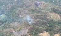 Incendios en la zona rural de Santa Marta.