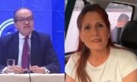 Procurador Fernando Carrillo y gobernadora Rosa Cotes.