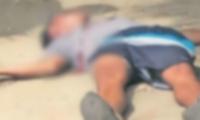 La víctima fue identificada como Oscar Mejía Solano.