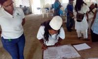 Firma de acuerdos de conservación de ecosistemas