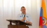 El saliente gerente del Setp, Luis Guillermo Rubio.