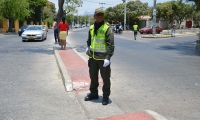 Los agentes de Tránsito de la Policía volverán a regular la movilidad.