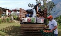 50 campesinos se sumaron al proyecto 'La Sierra vuelve a Sembrar'.