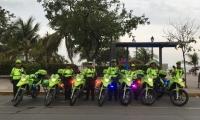 Los agentes de la Policía de Tránsito harán presencia en distintos sectores de la ciudad.