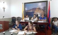 Con la presencia de la Gobernadora se dio inicio al segundo periodo de sesiones ordinarias.