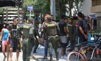 Los hinchas de Millonarios protagonizaron disturbios en El Rodadero el pasado 1 de junio.